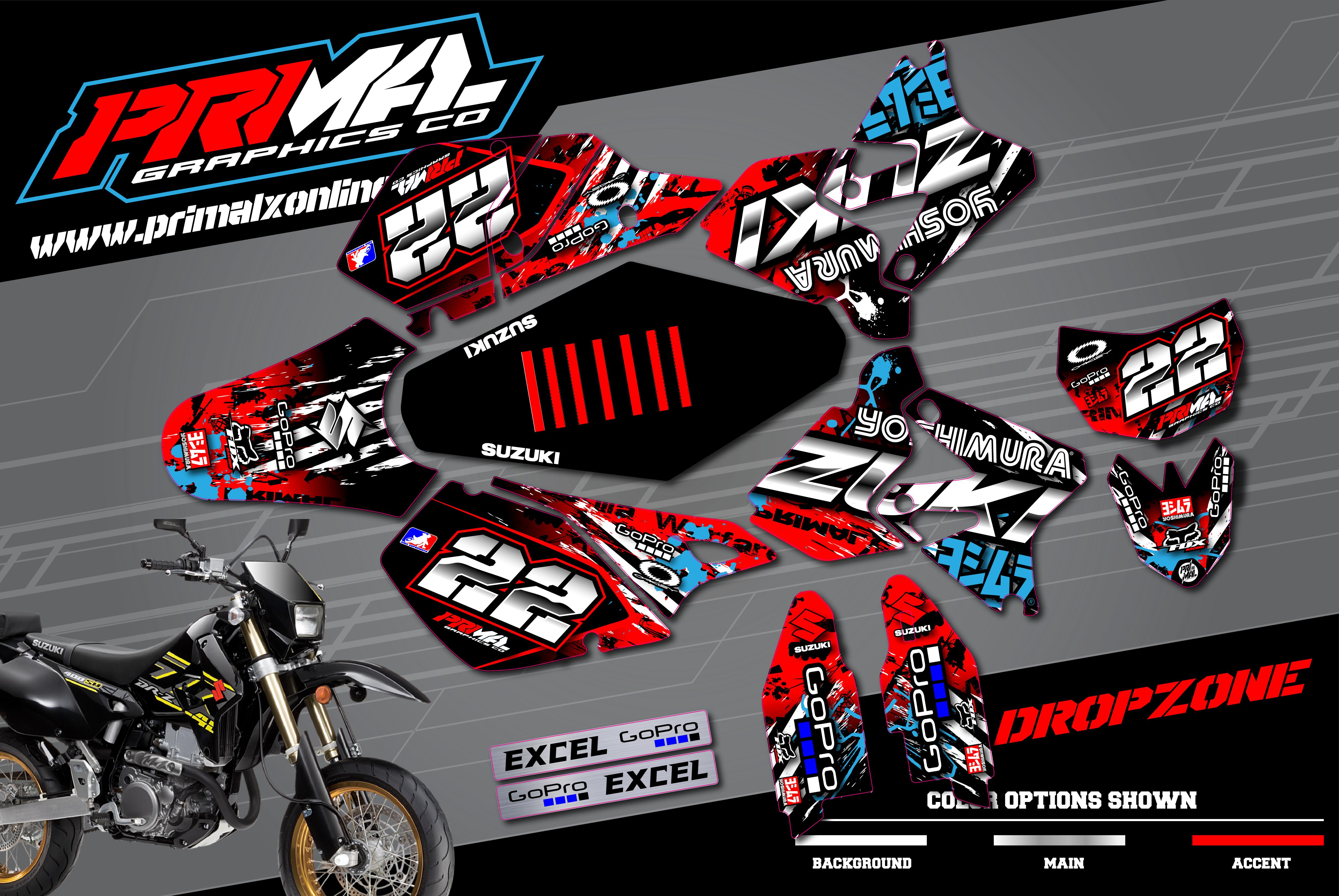 1_PRIMAL-X-MOTORSPORTS-PRIMAL-GRAPHICS-CO-SUZUKI-DRZ400SM-SUPERMOTO-MOTOCROSS-GRAPHICS-BIKELIFE-CHARMCITY-DROPZONE-PEREZ-01