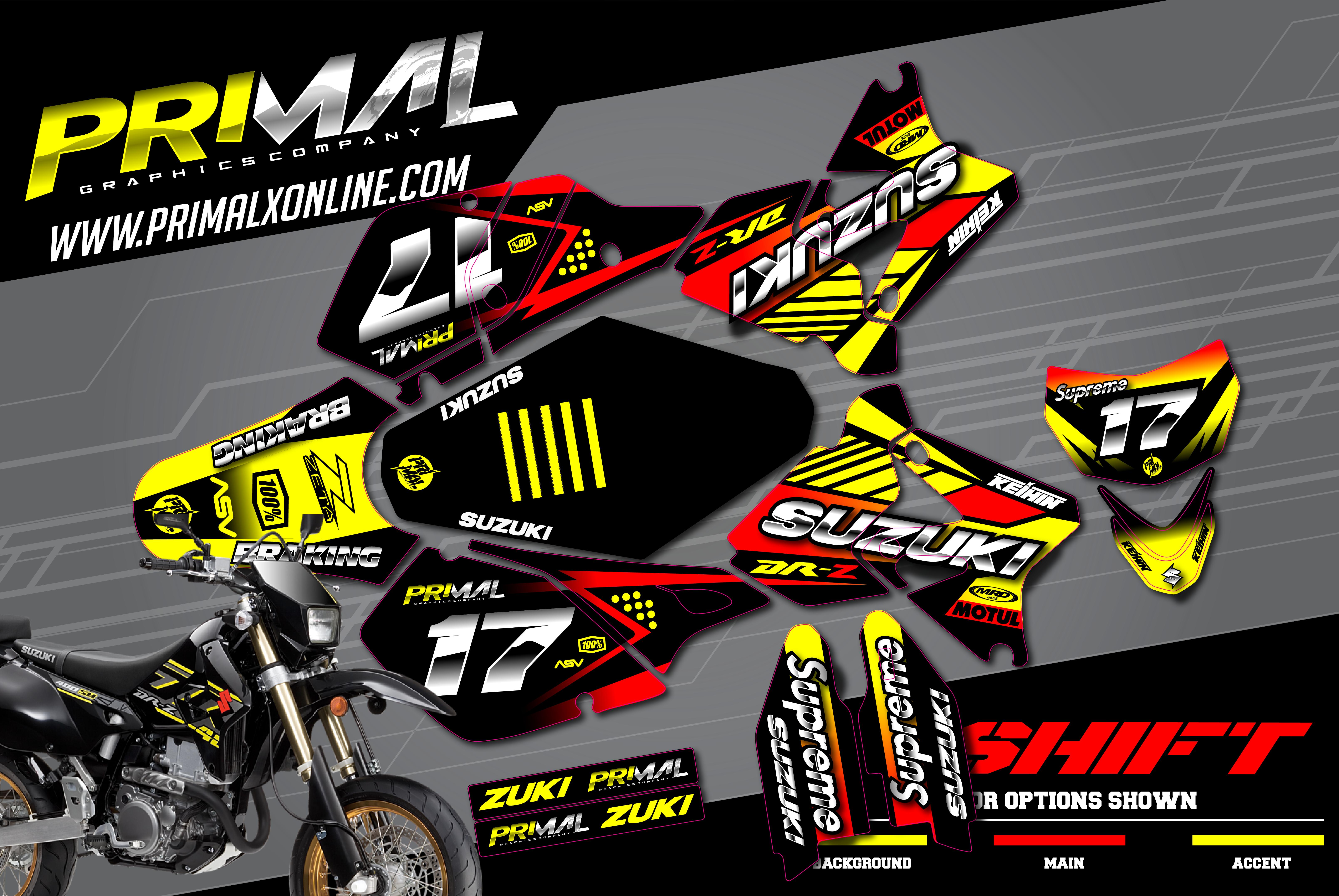 PRIMAL-X-MOTORSPORTS-PRIMAL-GRAPHICS-CO-2021-SUZUKI-DRZ400SM-MOTOCROSS-GRAPHICS-SHIFT-SERIES-01
