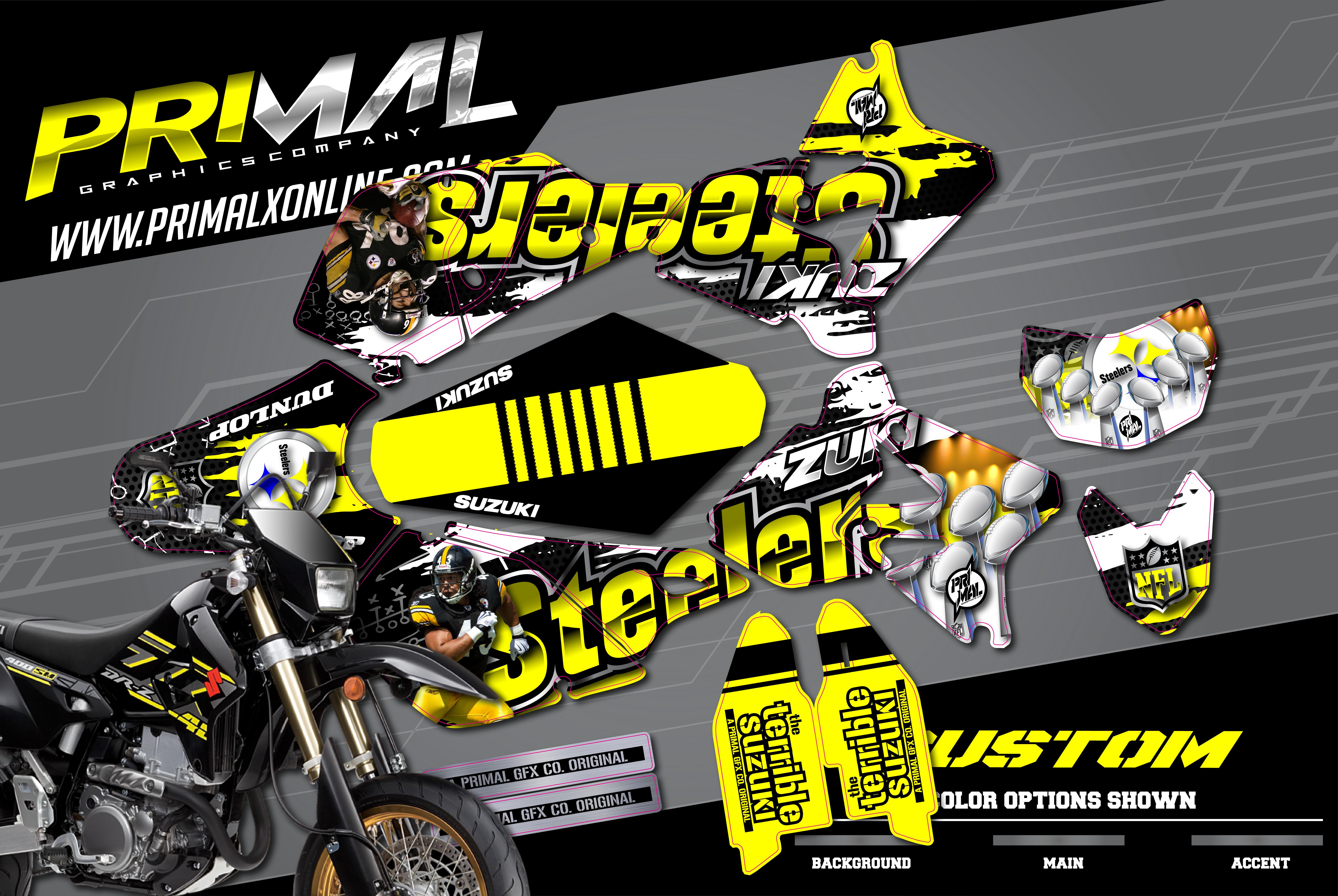 PRIMAL-X-MOTORSPORTS-PRIMAL-GRAPHICS-CO-2021-SUZUKI-DRZ400SM-MOTOCROSS-GRAPHICS-STEELERS-CHARM-CITY-KINGS-01