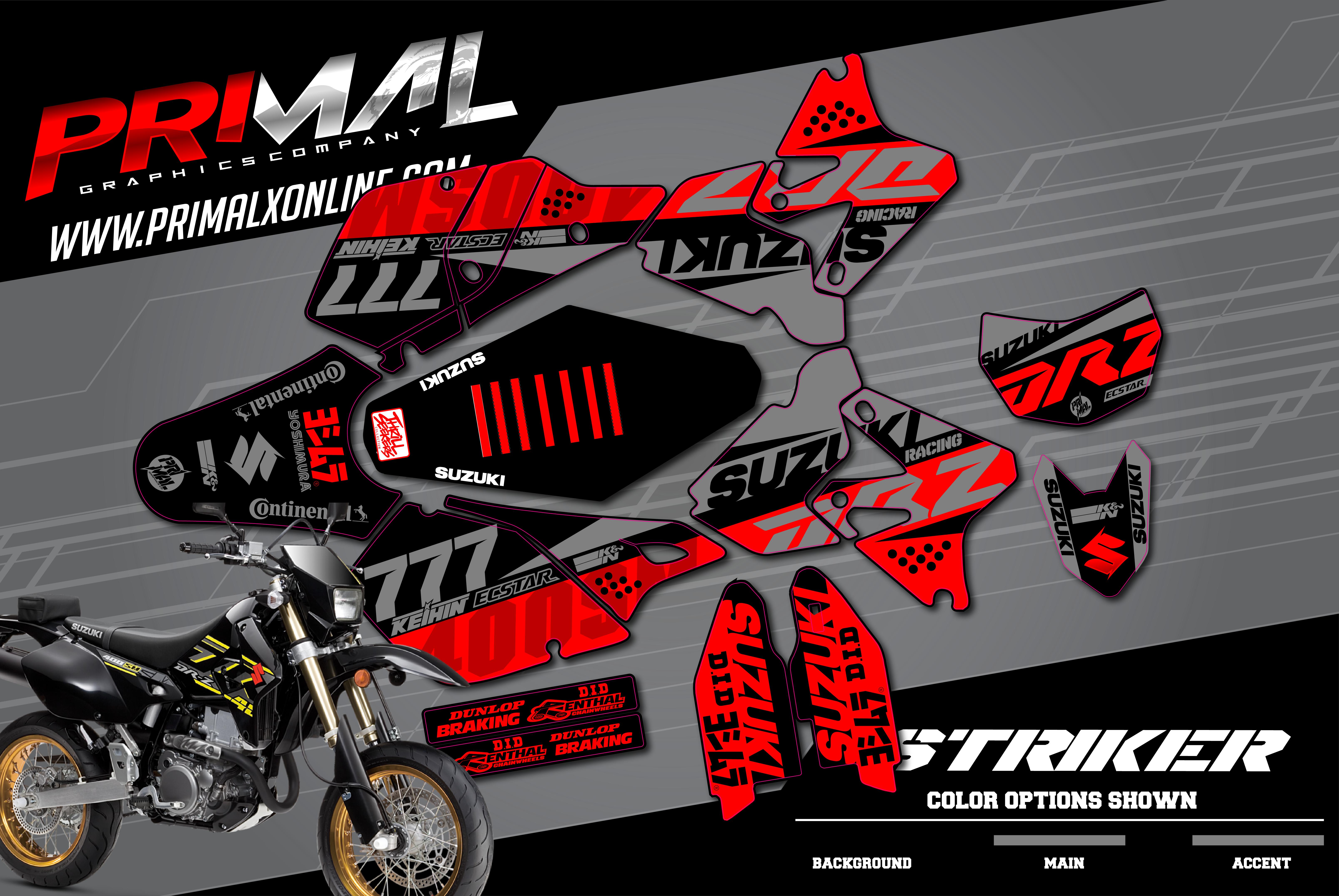 PRIMAL-X-MOTORSPORTS-PRIMAL-GRAPHICS-CO-2021-SUZUKI-DRZ400SM-MOTOCROSS-GRAPHICS-STRIKER-SERIES-SUPERMOTO-01