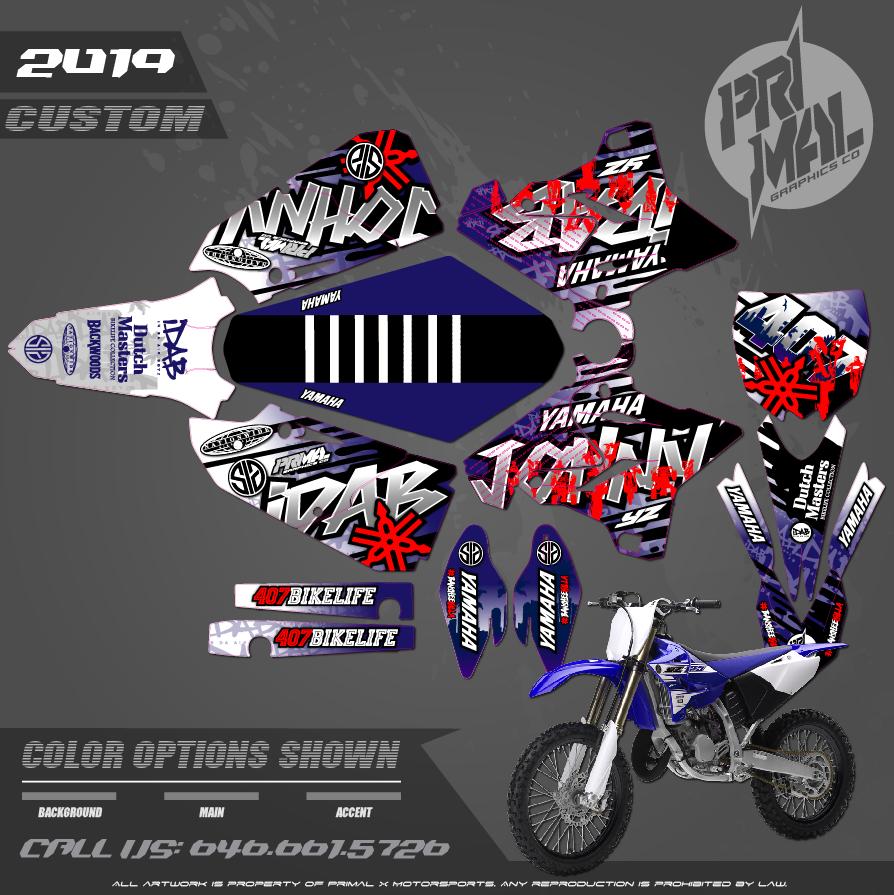 YAMAHA YZ125 YZ250 IN DA AIR BOYZ MOTOCROSS GRAPHICS ATV MX GRAPHICS PRIMAL X MOTORSPORTS PRIMAL GFX BIKELIFE