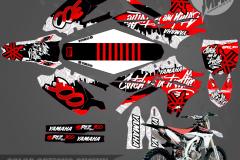 CATCH ME IN TRAFFIC YAMAHA MOTOCROSS GRAPHICS ATV MX GRAPHICS PRIMAL X MOTORSPORTS PRIMAL GFX CO BIKELIFE