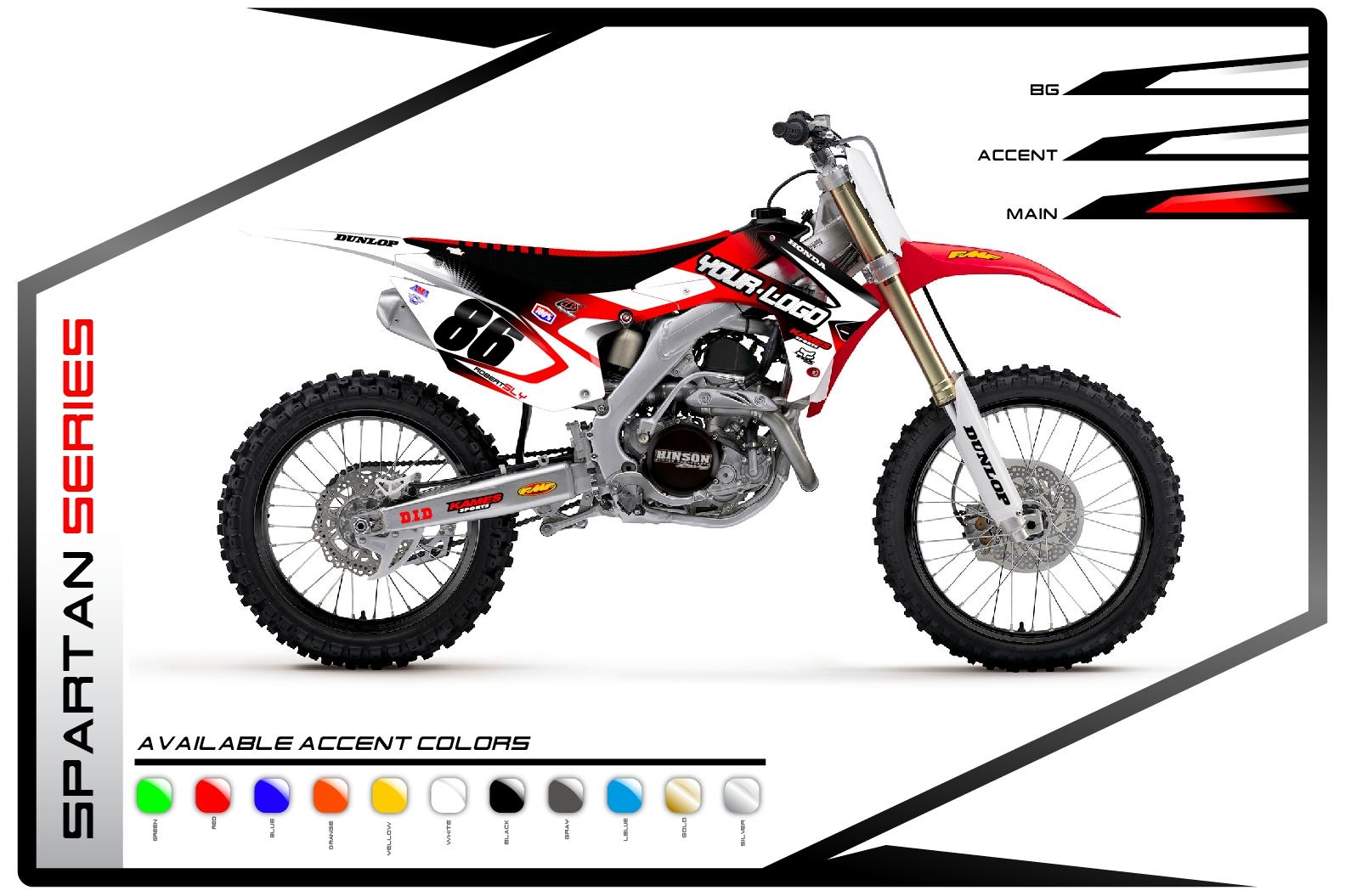 Primal X Motorsports MX Graphics Honda Fusion Series