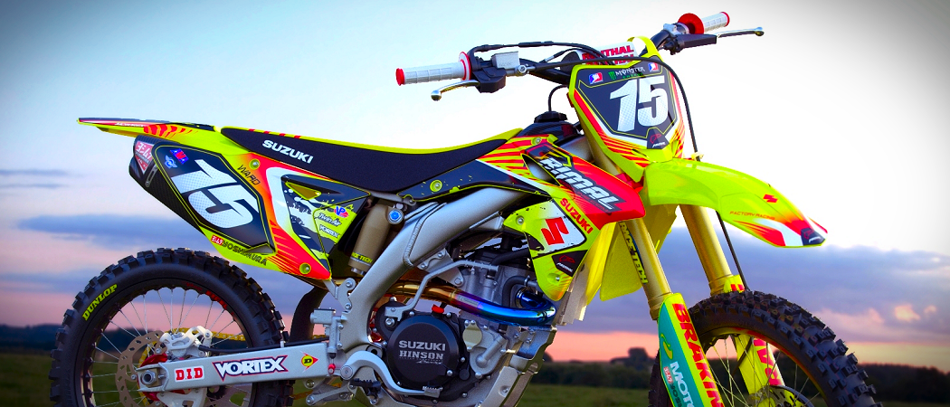 Custom Motocross Graphics - BikeGraphix